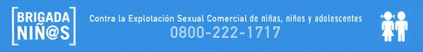 Brigada Niñ@S Contra la Explotación Sexual Comercial de Niñas, Niños y Adolescentes
